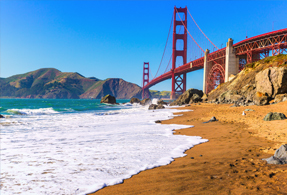 San Francisco ハーレーのレンタル