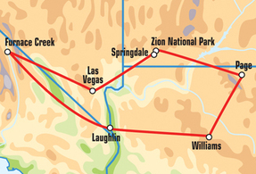 Las Vegas/Zion National Park Motorcycle Tour