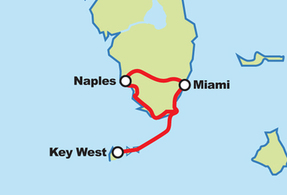 Miami South Florida Motorcycle Tour
