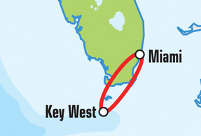 Miami Key West Motorcycle Tour