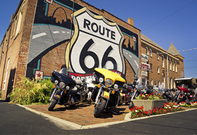Eaglerider Motorcycle Tours Route