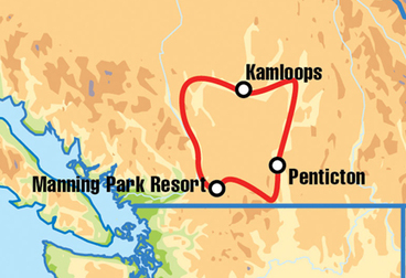 Kamloops Motorcycle Tour
