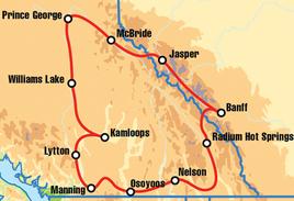 Kamloops Canadian Motorcycle Tour