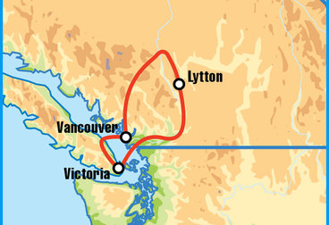 Vancouver Pacific Coast Motorcycle Tour
