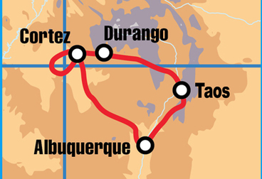 New Mexico Motorcycle Tour