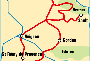 A Weekend in Provence Motorcycle Tour
