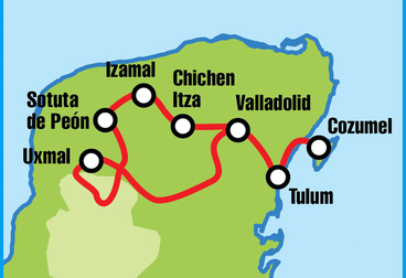 Mexico Mayan Adventure Motorcycle Tour
