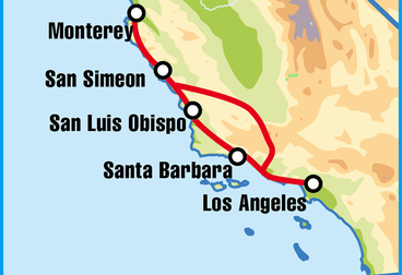 Pacific Coast Highway Motorcycle Tour - Alternate