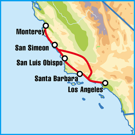 Pacific Coast Highway self drive motorcycle tours