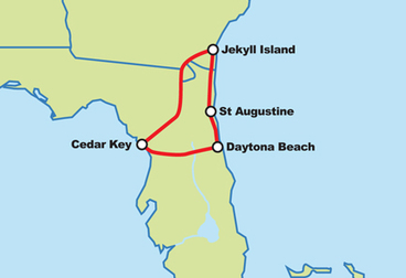 Florida Backroads North Motorcycle Tour