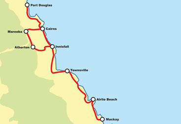Reef to Rainforest Motorcycle Tour