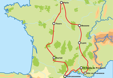 Tour de France Motorcycle Tour
