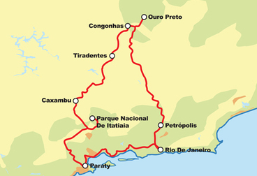 The Golden Route Motorcycle Tour