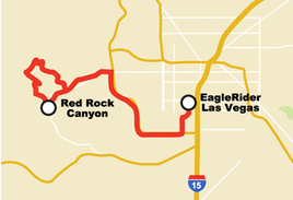Red Rock Canyon Motorcycle Tour