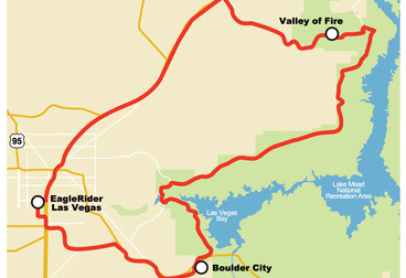Valley of Fire Motorcycle Tour