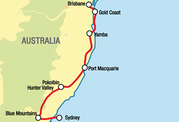 Brisbane to Sydney Motorcycle Tour