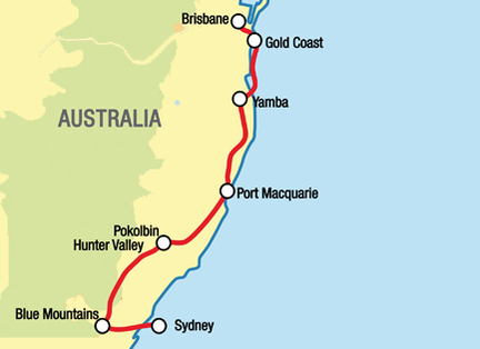 Brisbane To Sydney Motorcycle Tour Self Drive Motorcycle Tour