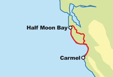 Carmel / Half Moon Bay Motorcycle Tour