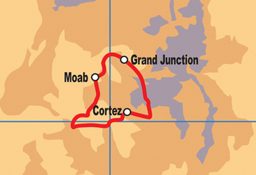 Grand Junction / Moab Motorcycle Tour