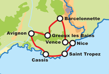 Heart of Provence Motorcycle Tour