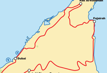 Northern Emirates Weekend Motorcycle Tour