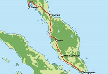 Ride to Phuket from Singapore