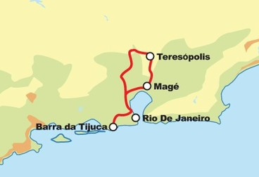 Rio de Janeiro Mountain View Motorcycle Tour