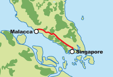 Ride to Historical Malacca