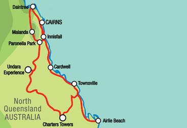 Nord Queensland Entdeckungstour