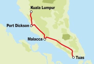 Peninsular Malaysia Motorcycle Tour