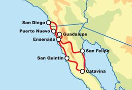 8-Tägige Baja Dual Sport Abenteuertour (On/Off-road)