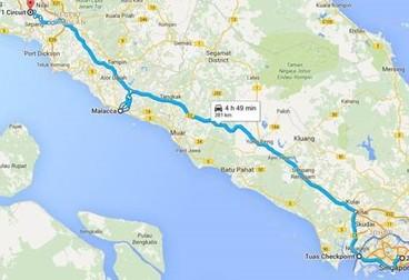 Ride to the Moto GP Singapore Tour