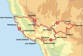 Summer Southwest Road Trip - Motorcycle Tour