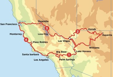 Summer Southwest Road Trip - Motorcycle Tour