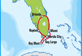 Miami Paradise Motorcycle Road Trip