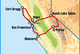 San Francisco North Motorcycle Road Trip