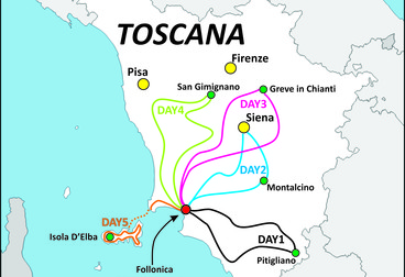 Bella Toscana Guided Motorcycle Tour