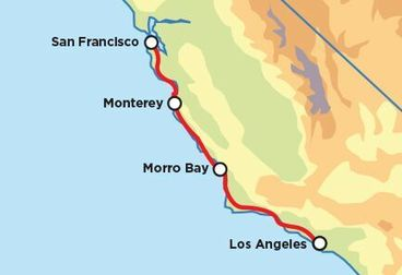Pacific Coast Highway Motorcycle Road Trip