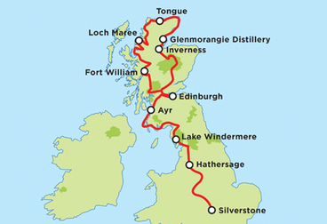 Small Batch Ye Olde England and Bonnie Scotland Tour