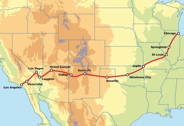 Route 66 Motorcycle Road Trip – Chicago to Los Angeles