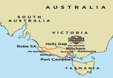 Great Ocean Road - Grampians Adventure - Guided Motorcycle Tour