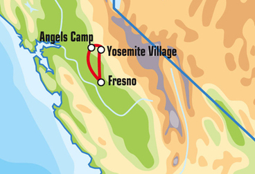 Fresno Motorcycle Tour