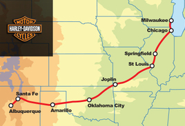 Route 66 Harley-Davidson Exclusive VIP 10 Day Guided Tour