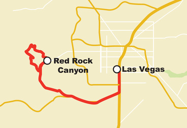 Fourth Annual AWS re:Invent Harley Ride - Red Rock Canyon with Slingshot