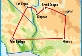 Palm Springs Motorcycle Tour