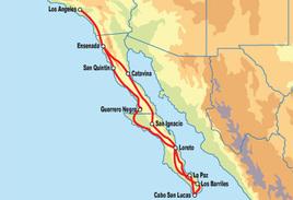 Baja California Motorcycle Tour