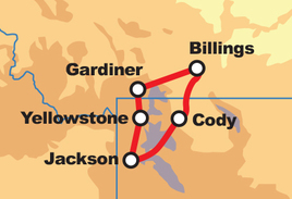 HOG Touring Rally –  Yellowstone and the Beartooth Tour