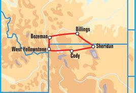 Yellowstone Motorcycle Tour