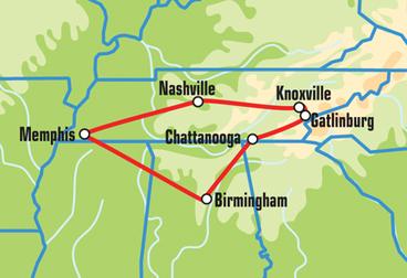 Nashville Motorcycle Tour