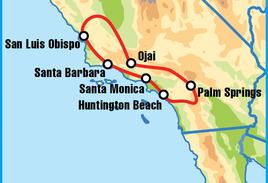 Santa Monica Motorcycle Tour